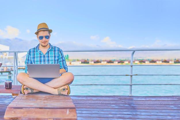 Freelancer op vakantie