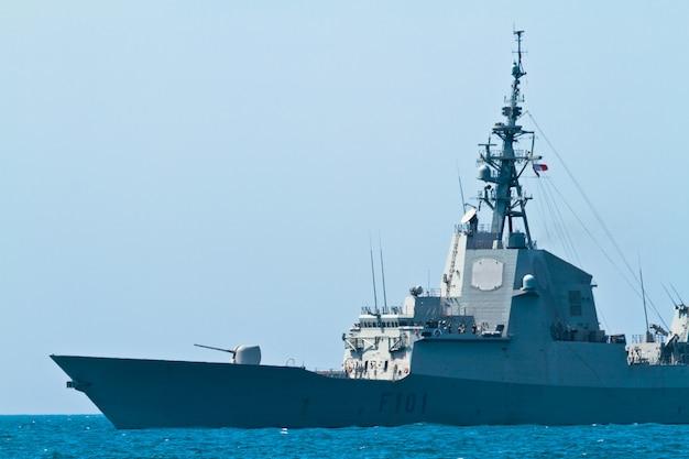 Fregat f-101 alvaro de bazan boot