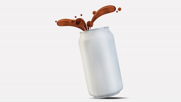Frisdrank kan spatten
