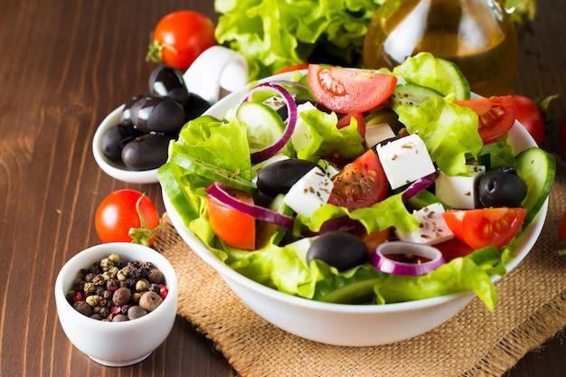 Frisse griekse salade