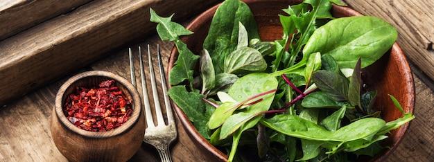 Frisse groene salade