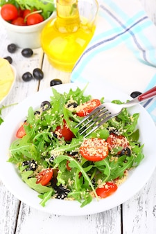 Frisse salade met rucola