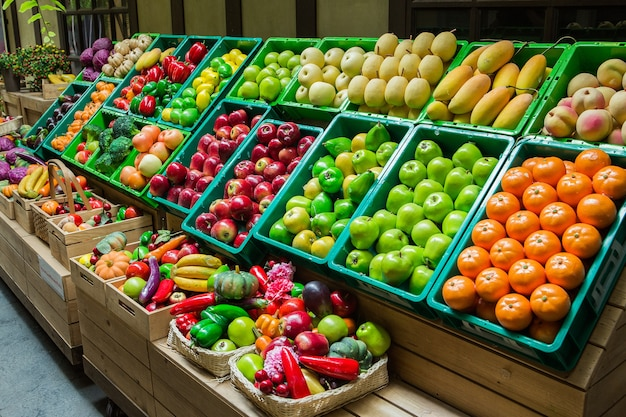 Fruit en vagetables in thailand