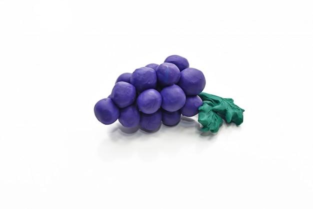Fruit uit plasticine.