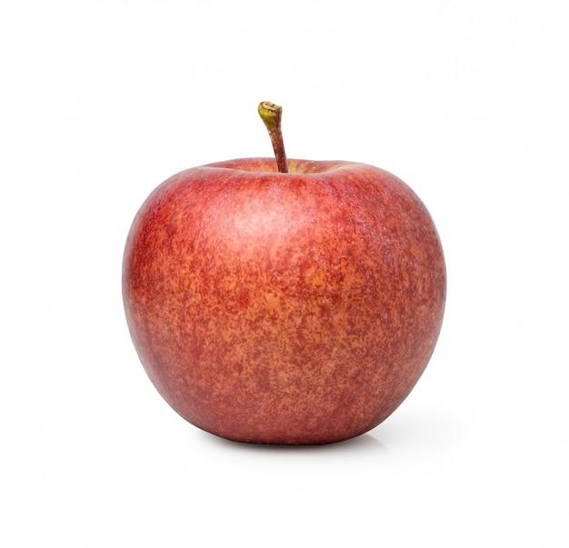 Fuji appel geïsoleerd op witte ruimte