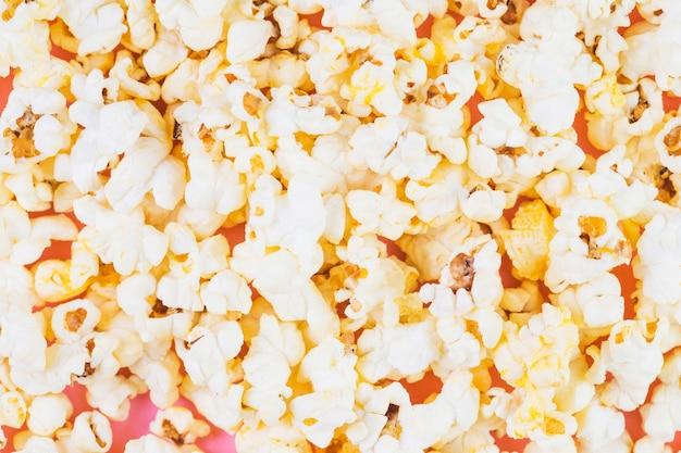 Full-frame opname van popcorn