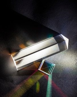 Fysica optica straalbreking prisma