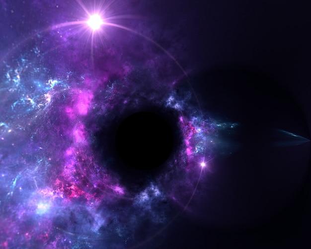 Galaxy een systeem van miljoenen of miljarden sterren