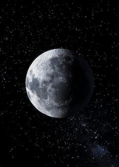 Galaxy nacht panorama