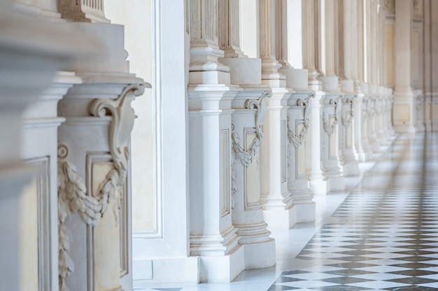 Galerij in een prachtig paleis