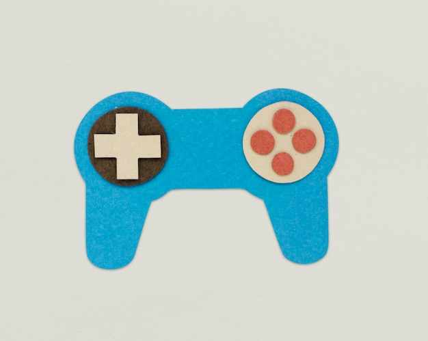 Game cotroller joystick icon sign