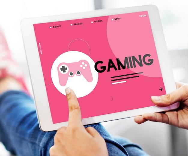Game entertainment activiteit vrije tijd spelen