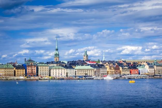 Gamla stan-landschap in stockholm