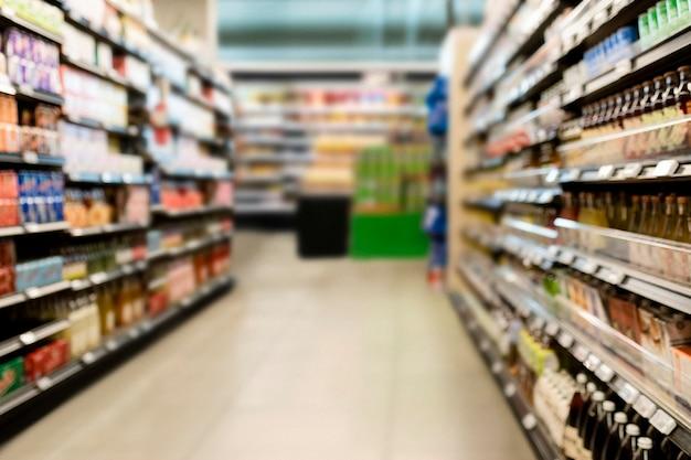 Gangpad supermarkt, drankgedeelte hd-afbeelding