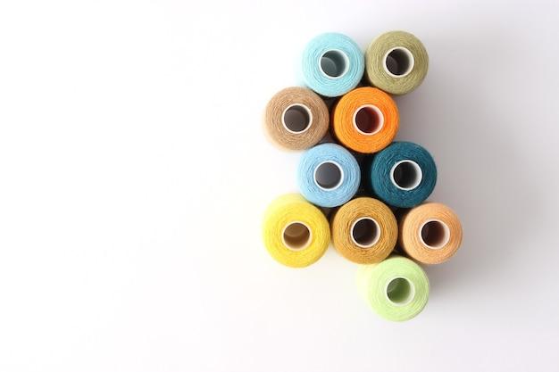 Garens voor naaien en handwerken close-up naaiaccessoires