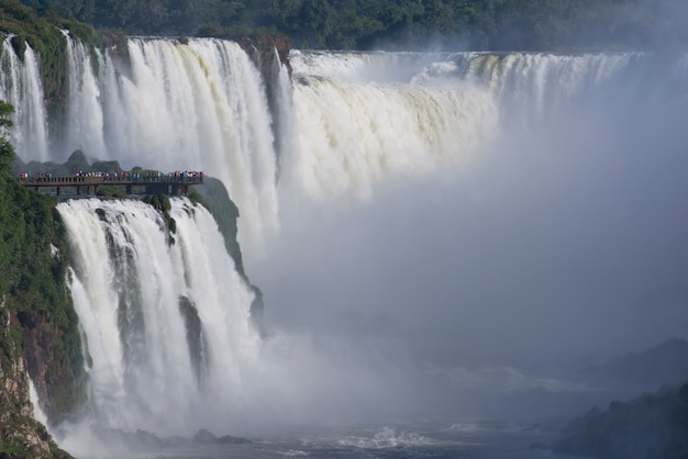 Garganta del diablo bij de iguazu-watervallen