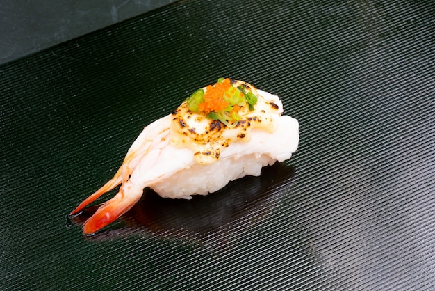 Garnalen sushi - japanse stijl