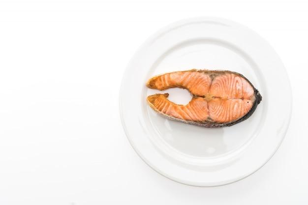 Gastronomische visfilet maaltijd gegrild