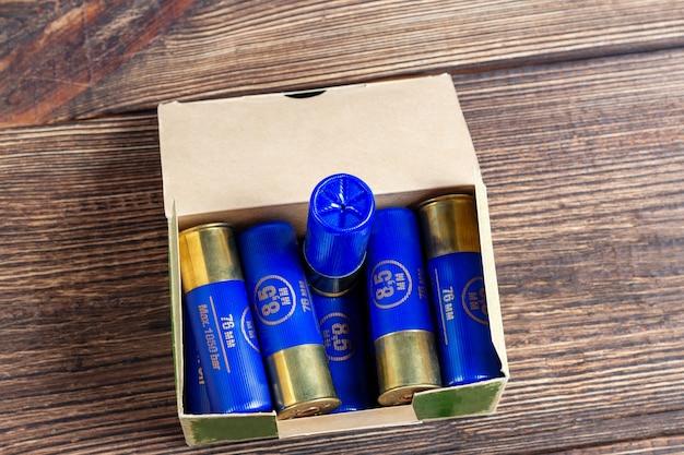 Gauge kaliber kleuren cartridges jacht schelpen doos
