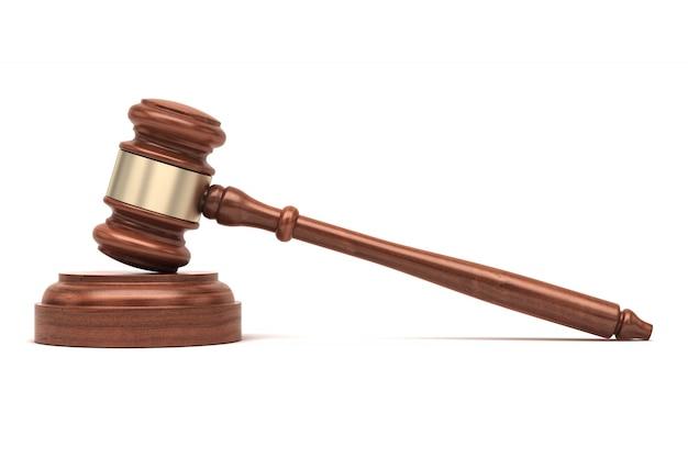 Gavel - rechtsconcept