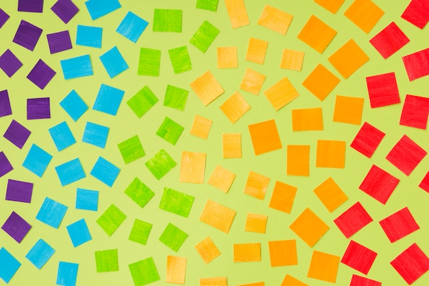 Gay pride concept mozaïek van kleuren