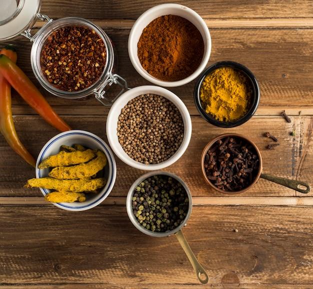 Geassorteerde specerijen samenstelling