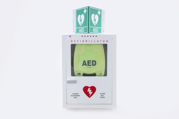 Geautomatiseerde externe defibrillator in het ziekenhuis