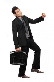 Gebaar van zakenman intensivering