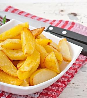 Gebakken aardappelpartjes