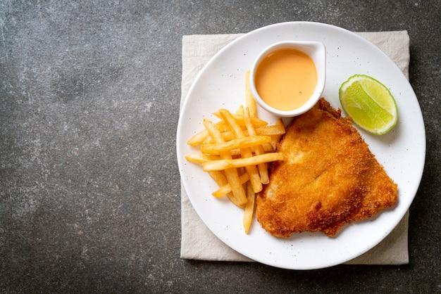 Gebakken fish and chips