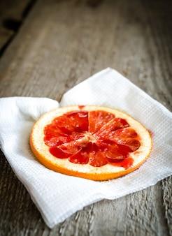 Gebakken grapefruit