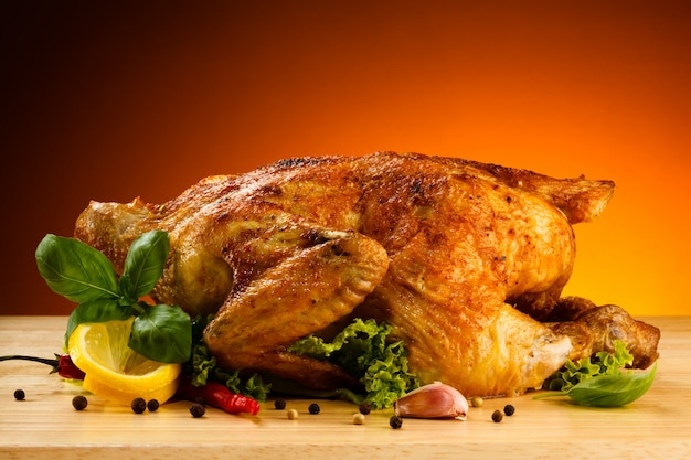 Gebakken kip gebakken kip