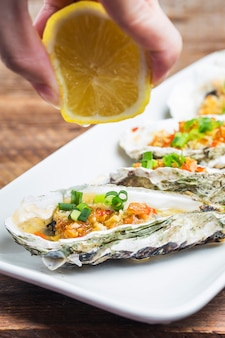 Gebakken oesters