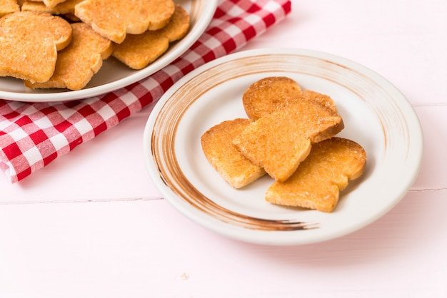 Gebakken toast knoflookbrood