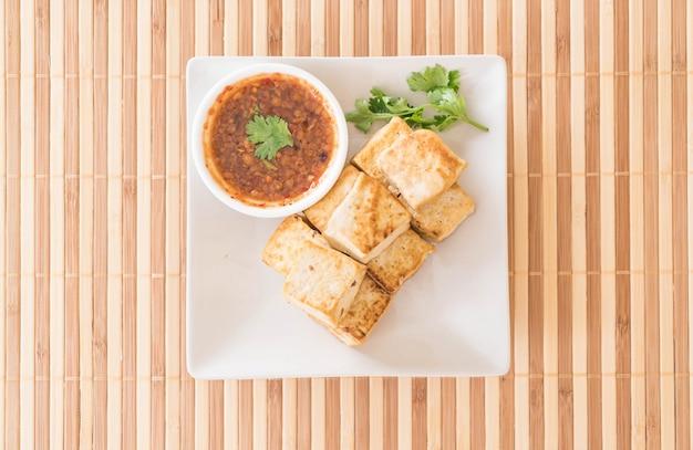 Gebakken tofu - gezond eten