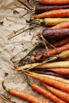 Gebakken wortelen