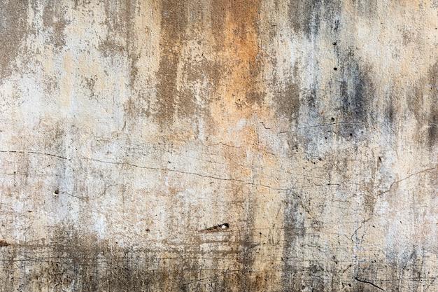 Gebarsten concrete uitstekende muurachtergrond