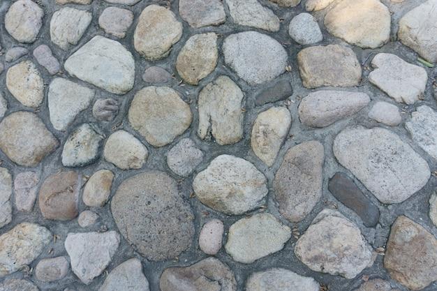 Gebarsten ruw beton oud metselwerk patroon