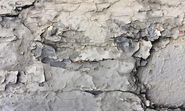 Gebarsten schilferige verf grunge textuur abstracte achtergrondafbeelding