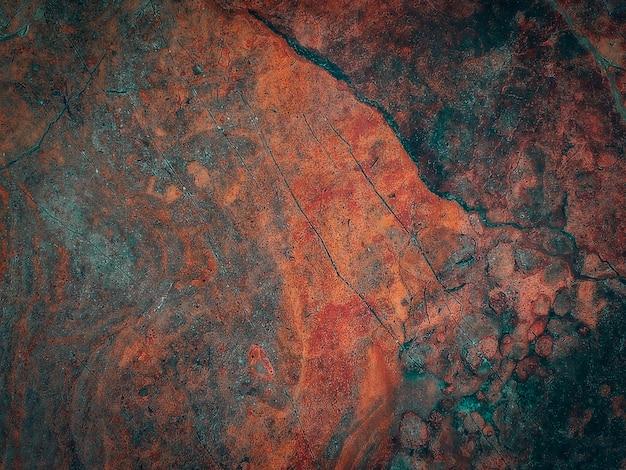 Gebarsten steen oppervlaktestructuur.