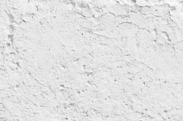 Gebarsten witte muur