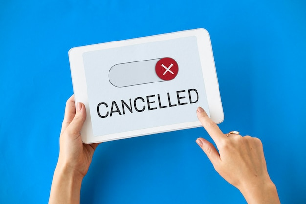 Geblokkeerd niet beschikbaar toegankelijkheid weigeren gesloten