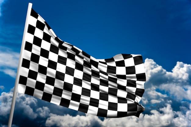 Geblokte vlag