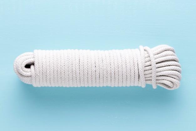 Gebonden touw sterk wit touw