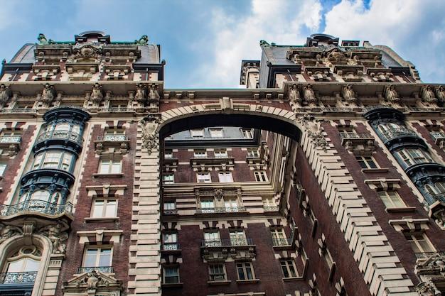 Gebouw in upper west side in new york