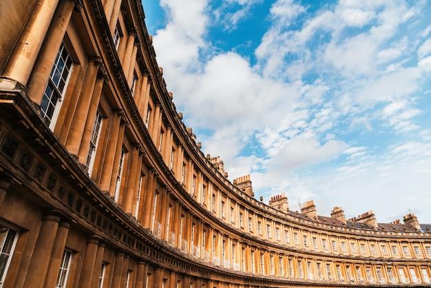 Gebouwen in britse architectuurstijl