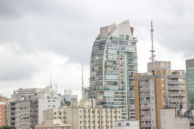 Gebouwen in het centrum van são paulo