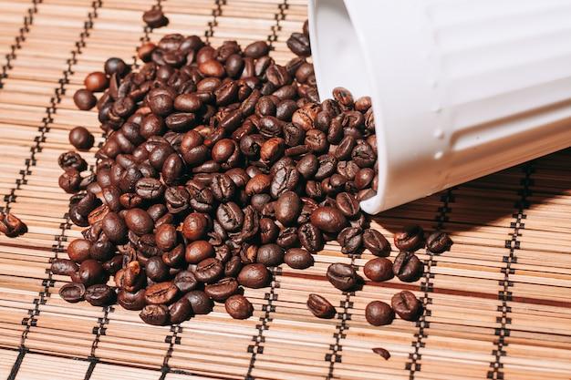 Gebrande koffiebonen