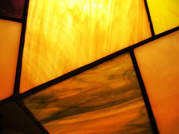 Gebrandschilderd glas abstract
