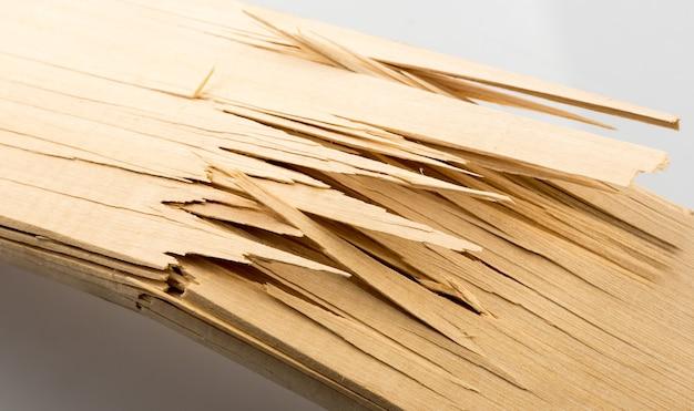 Gebroken houten planken